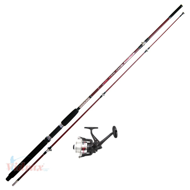 bottom fishing rod 1 b b reel no 7