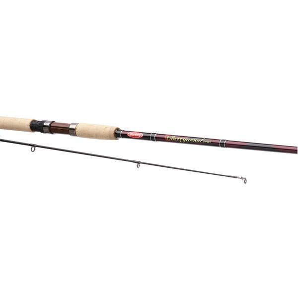 Berkley fishing rod cherrywood pro spin berkley for Berkley fishing rods
