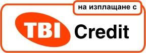 На изплащане с TBI кредит!