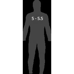 От 5мм до 5.5мм