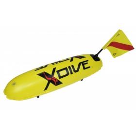 Буй от ПВЦ тип торпедо - Жълт