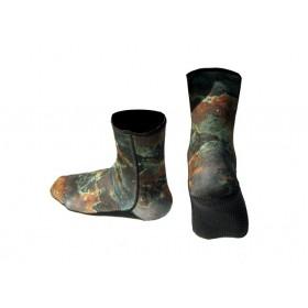 3мм Чорапи неопрен SEPIA CAMU