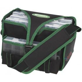 Чанта с 4 кутии Tackle Box Bag Medium - Mitchell