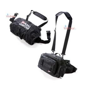 Чанта с дъждобран Hip Bag Large 2 Black - Abu Garcia