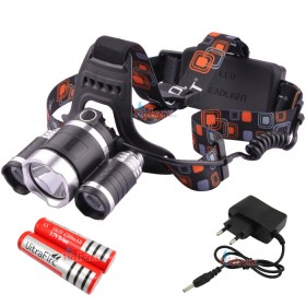 Фенер - челник multifunction bike lamp and headlamp с филтри зареждащ - Vidrax