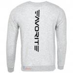 Блуза с дълъг ръкав Jersey SM1 F logo GRAY XL - Favorite