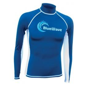 Тениска от ликра с дълъг ръкав за плуване и сърф