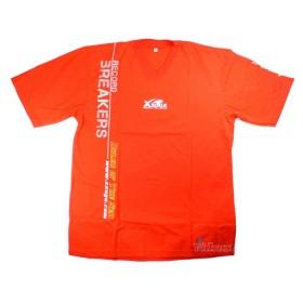 Червена тениска с къс ръкав - Xzoga