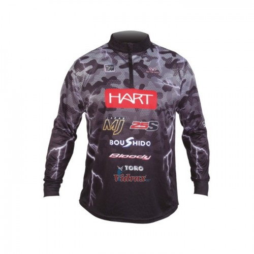 Блуза с дълъг ръкав Team-TL XHTET - Hart