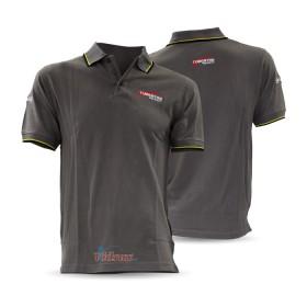 Тениска с яка Grey - Tubertini