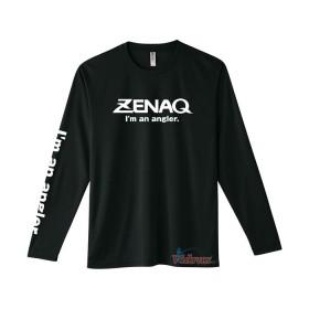 Тениска с дълъг ръкав черна Dry Long T-shirt - Zenaq