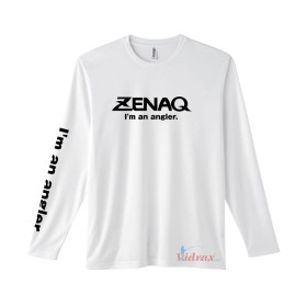 Тениска с дълъг ръкав бяла Dry Long T-shirt - Zenaq