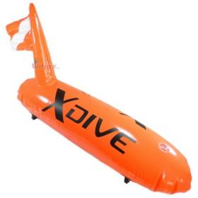 Буй PVC с надуваем флаг - xDive