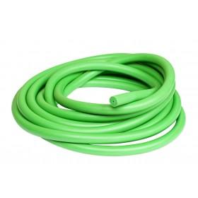 14мм S400 Acid Green латексов ластик на метър за харпун