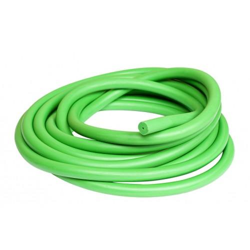 16мм S400 Acid Green латексов ластик на метър за харпун