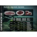 Ластик Reactive EVO 17.5 mm Plum - Sigal Sub