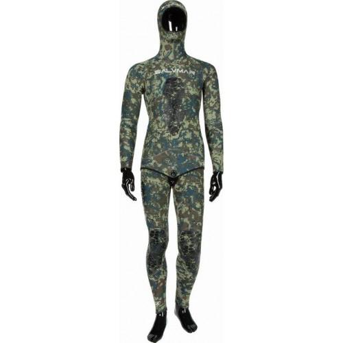 Камуфлажен неопренов костюм Salvimar N.A.T 5.5мм размер M