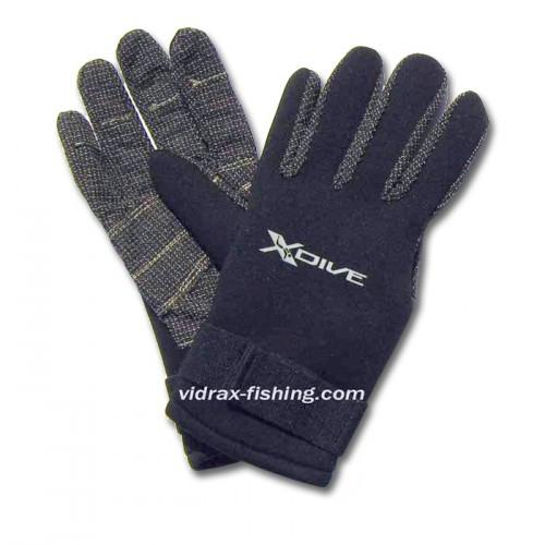 2мм неопрен ръкавици с длани от кевлар