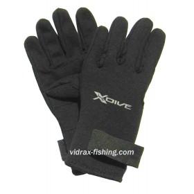 """2мм неопрен ръкавици  с длани от кожа  """"Амара"""""""