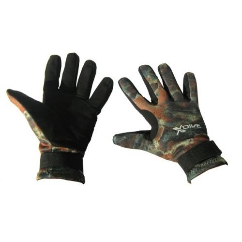 2мм неопренови ръкавици X-Dive AMARA CAMU