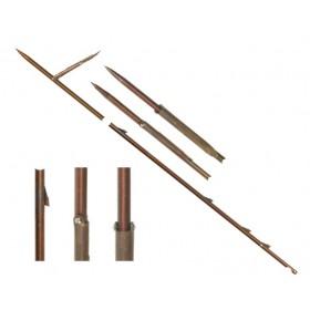 6.25мм/135см стрела с 3 шаркфина и 1 контра