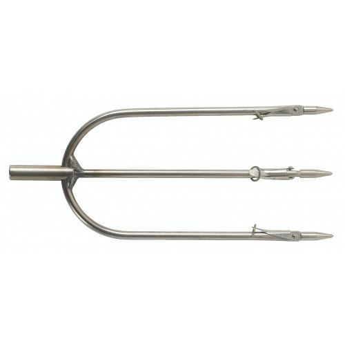 Тризъбец за стрела на харпун с 3 подвижни контри-пера