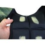 Камуфлажна жилетка за тежести + тежести 5кг