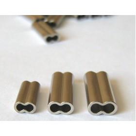 Кримп двоен от никелирана мед 1.6мм; 1.9мм; 2.2мм