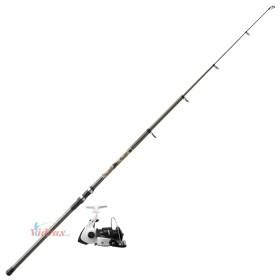 Телескоп за риболов на плувка + 3 лагерна макара - №1