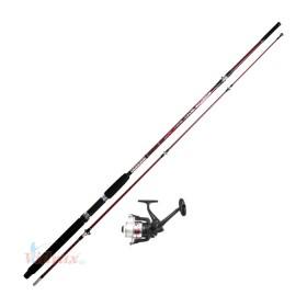 Прът за дънен риболов 2,40м  100-300гр + 1 лагерна макара - №7