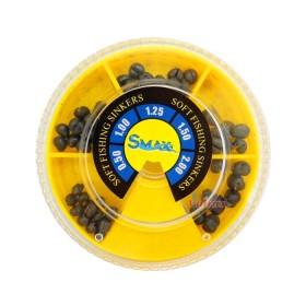 Кутия олово SuniMax 1 голяма (2.0-0.50 гр) 100 гр - жълта