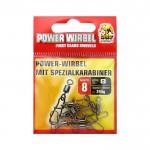 Вирбел с карабинка Power 8240108 Размер 8 - Behr