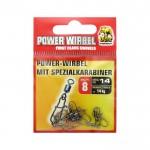 Вирбел с карабинка Power 8240114 Размер 14 - Behr