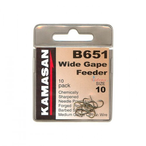 Кука Kamasan B651 Размер 10