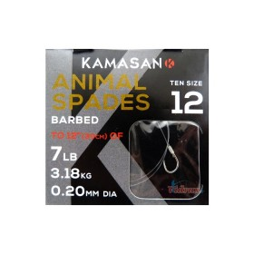 Вързани куки Animal №12 - 0.20 мм - Kamasan