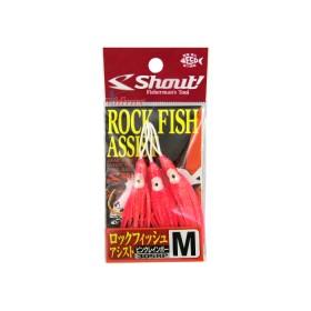 Куки Rock Fish Assist Hook Pink - Shout!