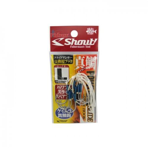 Куки Powerful Slide Spare Hook Silver - Shout!