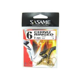 Куки Chinu Ringed F-721 - Sasame