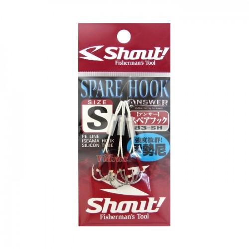 Куки Spare Hook 3 см 83-SH - Shout!