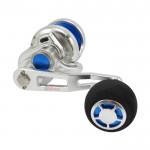 Макара 200L Silver/Blue - Poseidon