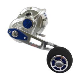 Макара 50SL-L Fix Silver/Blue - Poseidon