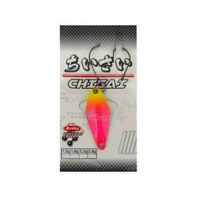 Блесна Area Game Spoons CHISAI 1.8 г Цвят Chartruese/Fuschia 1513554 - Berkley