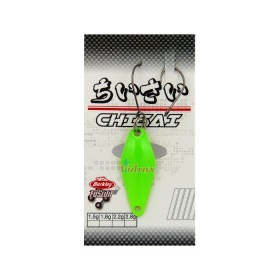 Блесна Area Game Spoons CHISAI 1.8 г Цвят Vert Lime Green/Gold/Gold 1513555 - Berkley