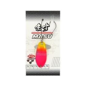 Блесна Area Game Spoons MASU 1.7 г Цвят Chartruese/Fuschia 1513580 - Berkley
