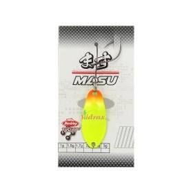 Блесна Area Game Spoons MASU 1.7 г Цвят Orange Tip/Chartreuse/Gold 1513586 - Berkley