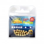 Волфрамови перли с ушен отвор 4 мм Gold 6672940 - Behr