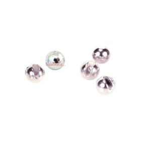 Волфрамови перли с ушен отвор 3.5 мм Silver 6673635 - Behr