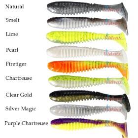 Силиконови рибки Flex Rib Shad 9 см (3.5 in) - Berkley