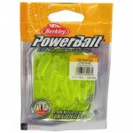Силиконов туистер Power Grub 2''(50 мм) Chartreuse - Berkley