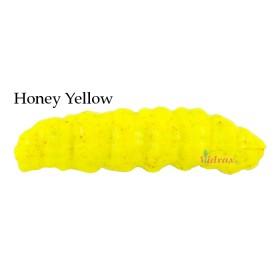 Изкуствени червеи Gulp! Honey Worm Honey Yellow 45 мм 1480782 - Berkley